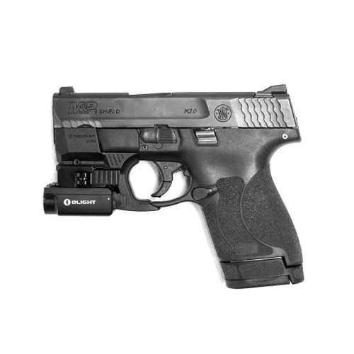 Smith and Wesson Shield 1.0 and 2.0 Rail Adaptor for use with Olight PL-Mini 2