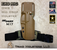 EXO Holster for the US Army M17.