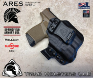 ARES WML Holster for the Springfield Armory Hellcat and the Surefire XSC.