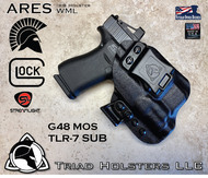ARES WML Holster for the Glock 43x and Streamlight TLR-7 Sub