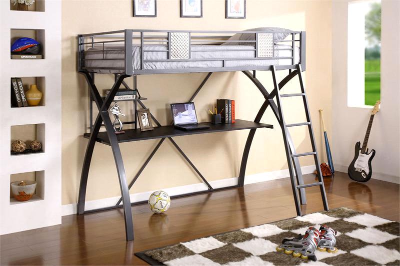 Metal Loft Bed