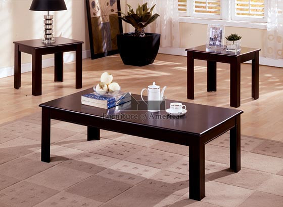 Cappuccino Coffee Table Set.Cappuccino Coffee End Tables Set