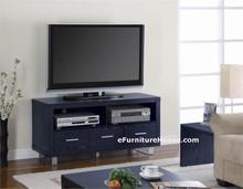 Modern Black Plasma TV Console Stand