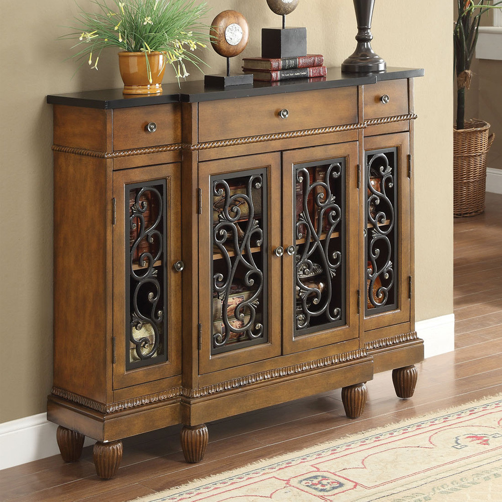 Innovative Console Cabinet With Doors Decoration