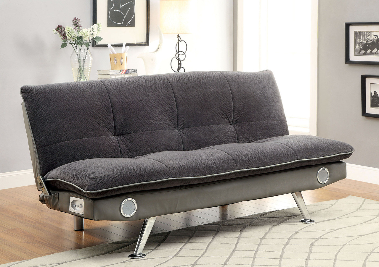 Gallagher Fabric Convertible Futon Sofa Bed for Sale