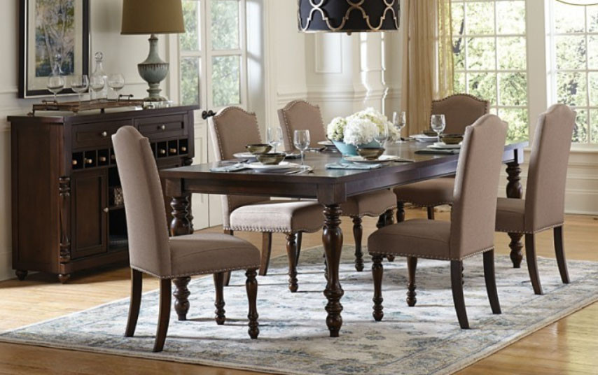 ... Dining Table With Six Chairs. Hover To Zoom
