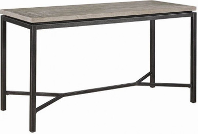 Heaton Elm Weathered Counter High Table