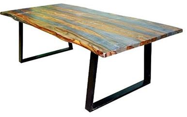 Jamestown Gray Black Dining Table by Scott Living