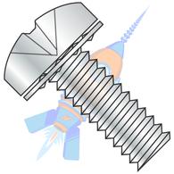 1/4-20 x 1 Phillips Pan Internal Sems Machine Screw Fully Threaded Zinc