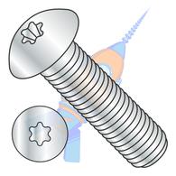 M3-0.5 x 5 ISO7380 Metric 6 Lobe Button Head Cap Screw Class 10.9 Zinc