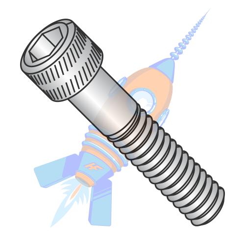 100 8-32x1//2 Socket Allen Head Cap Screw Stainless Steel #8 x 1//2