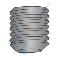1/4-20 x 3/4 Coarse Thread Socket Set Screw Flat Point Plain