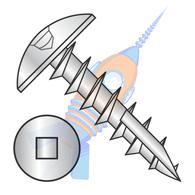 8-11 x 5/8 #2 Square Drive Truss Deep Thread Screw Type 17 Full Thread Zinc