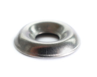 1/4 Countersunk Finishing Washer Black Zinc