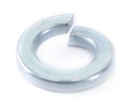 #2 Medium Split Lock Washer Zinc