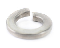 #2 Medium Split Lock Washer Black Zinc