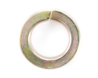 #8 Medium Split Lock Washer Black Zinc