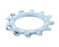 #2 External Tooth Lock Washer Zinc