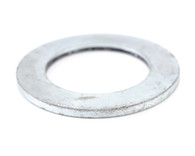 #4 S A E Flat Washer Zinc Yellow