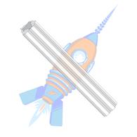 4-6 x 1 Fluted Plastic Anchor Ductile Plastic #4 Diameter