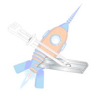 1/8 6-32 Kaptoggle Zinc #6 Diameter
