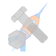 1/2-13 x 12 Hex Machine Bolt Galvanized Hot Dip Galvanized