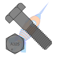 1/2-13 x 2-1/4 Heavy Hex Structural Bolts A325-1 Plain Made in North America