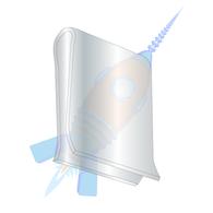 C43806-014-3B U Clips Electro Zinc