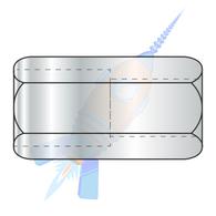 1/2-13 x 1-1/4 Reduced Hex Rod Coupling Nut 3/8-16-5/8 Across Flats Zinc