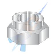 5/16-18 Flex Type Hex Lock Nut Thin Height Light 18-8 Stainless Steel