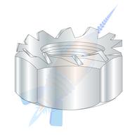 M5 x 0.8 Metric Class 8 Kep Lock Nut Zinc