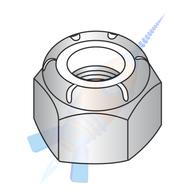 M4-0.70 Din 985 Metric Nylon Insert Hex Lock Nut 18-8 Stainless Steel