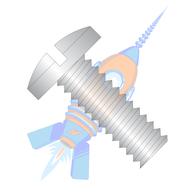 2-56 x 5/32 Slotted Binding Undercut Machine Screw Fully Threaded 18-8 Stainless Steel