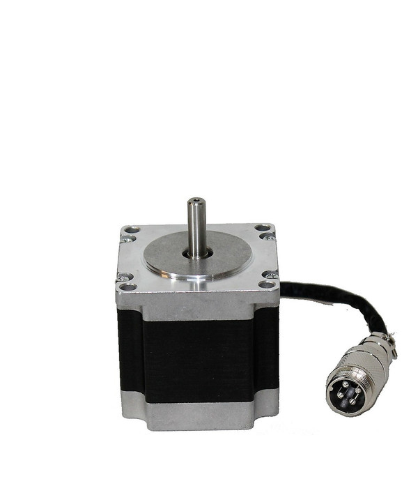 Motor Type: Bipolar Stepper Step Angle: 1.8 deg Holding Torque: 1.26Nm(178.4oz.in) Rated Current/phase: 2.8A Voltage: 2.5V Phase Resistance: 0.9ohms Inductance: 2.5mH ± 20%(1KHz)