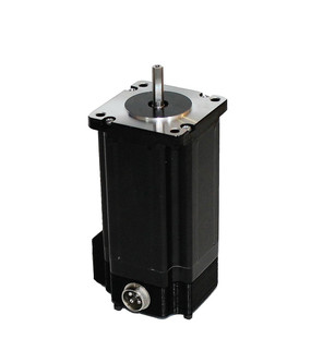 Nema 23 Stepper Motor 570 oz In. Stepper Motor 1.8° /200 Steps Per Rev. 5 Amps Current Per Phase ( Bipolar Parallel) 4-wire  Bi-polar,  NEMA 23 Frame