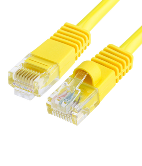 Cat5e Ethernet Network Cable - RJ45 Yellow