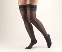 Truform Women Sheer LITES - Thigh High 8-15mmHg