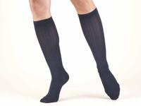 Truform Women Trouser Socks - Knee High 15-20mmHg (Rib pattern)