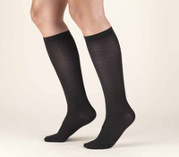 Truform Women Trouser Socks - Knee High 15-20mmHg (Diamond pattern)