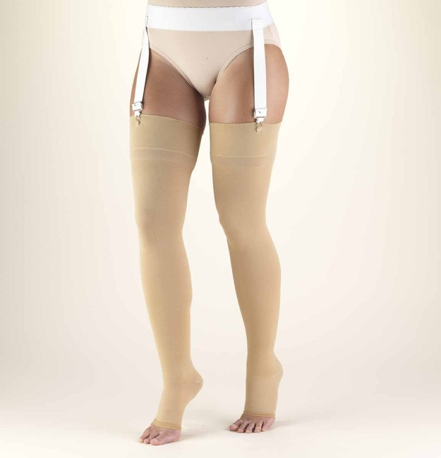 8946465c30d Truform Classic Medical - Thigh High 20-30mmHg - Open Toe - Select Socks  Inc.