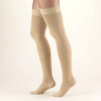 Truform Classic Medical - Thigh High 30-40mmHg (w/ Silicone Beaded Top)