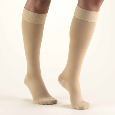 Truform Classic Medical - Knee High Unisex 20-30mmHg (w/ Silicone Beaded Top)