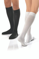 Jobst ActiveWear- Knee High Black and White