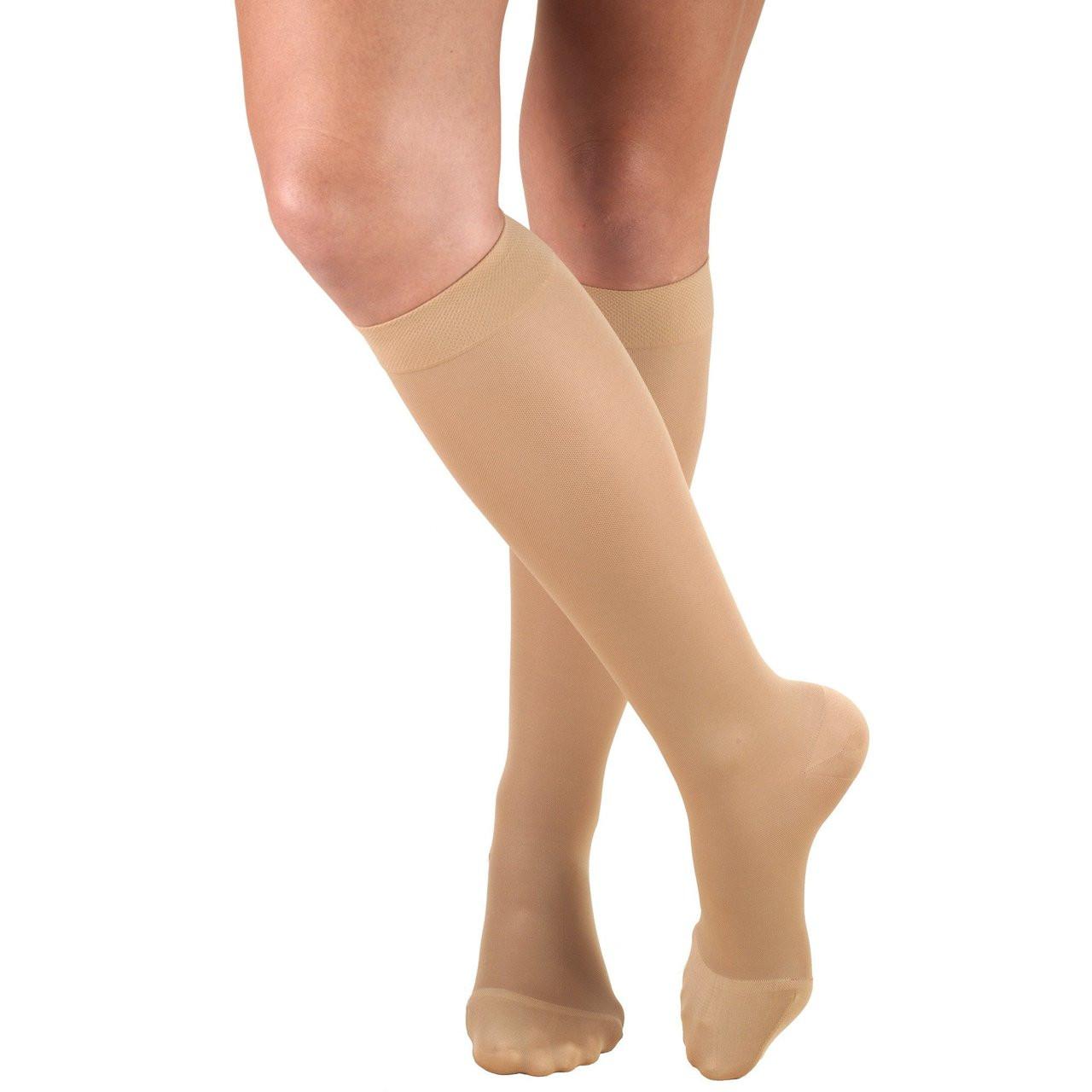0a95d869385d6 Truform Opaque - Knee High 20-30mmHg - Select Socks Inc.
