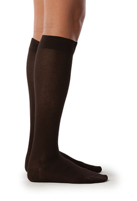 Sigvaris Sea Island socks women brown
