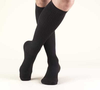 Truform Men Casual Socks - Knee High black
