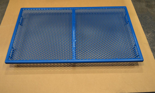 "Shor-Line PVC Coated Cage Floor fits in 48""W cage."