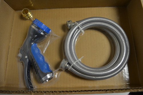 Shor-Line is discontinuing the Pet Wash Sprayer with Stainless Steel Hose.