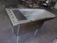Shor-line SS Bi-level tub top view