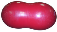 FitPAWS Red 80 cm peanut for dog training and rehabilitation.